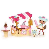 Набор с  Куклой Minilalaloopsy - Вафелька и Киоск с Мороженным 536567