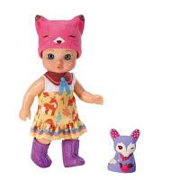 Кукла MINI CHOU CHOU серии Лисички Джуди 12 см с аксессуарами Zapf 920350
