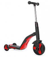 Самокат-беговел 3 в 1 FL-868 велобег до 40 кг черно-красный