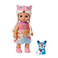 Кукла MINI CHOU CHOU серии Лисички Кэтти 12 см с аксессуарами Zapf 920381