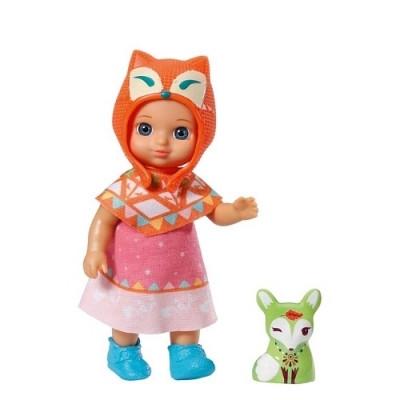 Кукла MINI CHOU CHOU серии Лисички Джози 12 см с аксессуарами Zapf 920367