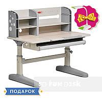 Парта-трансформер для школьника Fundesk Amico Grey