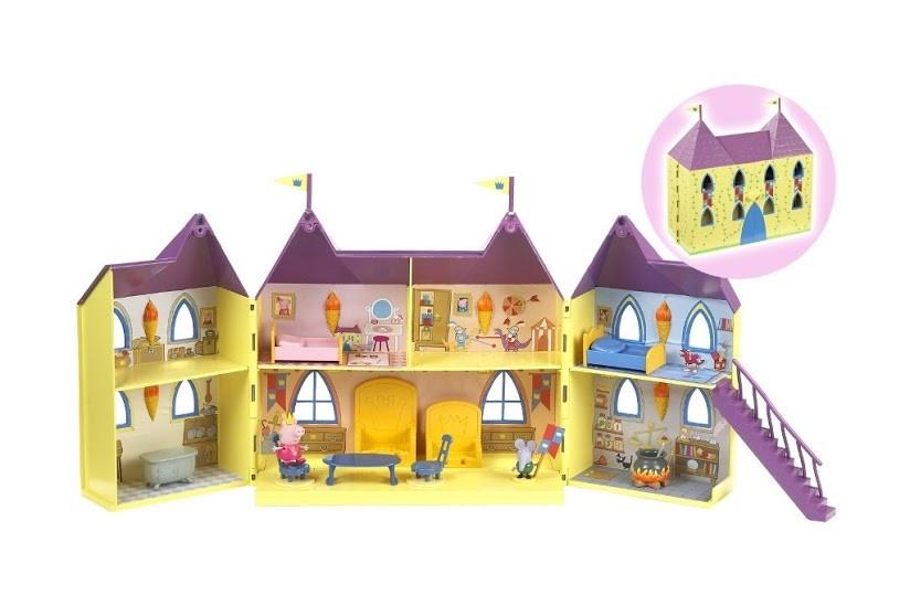 Игровой набор Peppa серии Принцесса БОЛЬШОЙ ЗАМОК ПЕППЫ замок с мебелью 2 фигурки 15559, фото 1