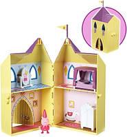 Игровой набор Peppa серии Принцесса ЗАМОК ПЕППЫ замок с мебелью фигурка Пеппы 15562