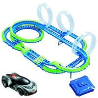 Игровой набор Wave Racers Cупер Петли трек 3 петли 2 сенсорные модели заряд устройство YW211035-1