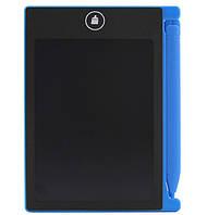 Интерактивная доска LCD для записи и рисования 4.4 дюймов 0044B, Black-blue, Кулек
