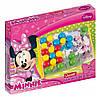 Набор мозаика Minnie большие фишки 48 шт доска 27х21 Quercetti 4200-Q