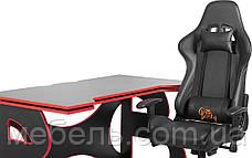 Компьютерный стол со стулом Barsky HG-05/SD-09 Homework Game Red,  ученическая станция, фото 2