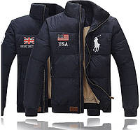 Теплая куртка пуховик POLO RALF LAUREN! Верхняя одежда. Мужские куртки. Зимняя куртка. Код: КЕ211