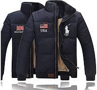 Теплая куртка пуховик POLO RALF LAUREN! Верхняя одежда. Мужские куртки. Зимняя куртка. Код: КЕ211, фото 1