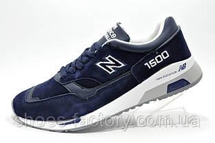 Мужские осенние кроссовки в стиле New Balance 1500 Dark Blue