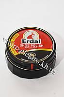 Крем для обуви с воском черный Erdal shoe polish 75 мл