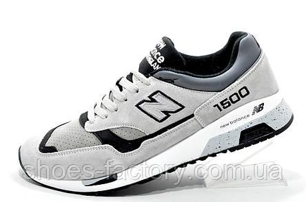 Мужские осенние кроссовки в стиле New Balance 1500 Gray, фото 2