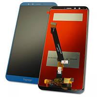 Дисплей Huawei Honor 9 Lite с сенсором, синий (оригинальные комплектующие), фото 1