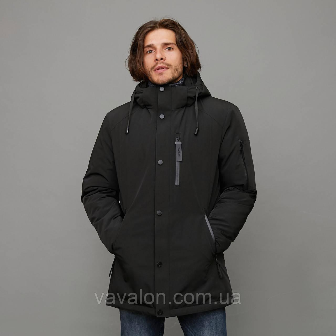 Зимняя мужская куртка Vavalon KZ-2003 Black