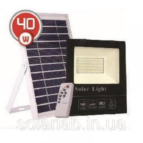 LED прожектор на солнечной батарее VARGO 40W 6500К (VS-109047)