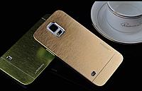Чехол Motomo золотой на Samsung Galaxy S5, фото 1