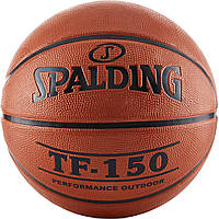 М'яч баскетбольний Spalding TF-150 Outdoor FIBA Logo Size 7 Баскетбольный мяч