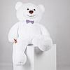 Большой плюшевый медведь Джеральд белый 165 см, фото 4