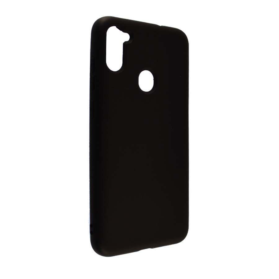 Чехол-накладка Soft Silicone Case для Samsung A11 (Черный)