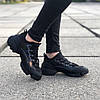 "Женские кроссовки Christian Dior D-Connect ""Black"" ( В стиле Диор ), фото 3"