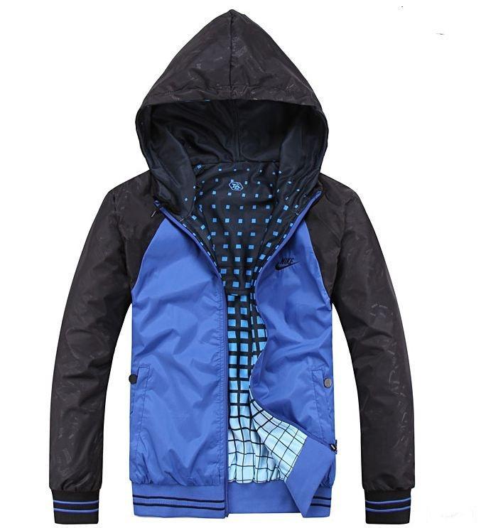 39b7ab4b Осенние двусторонние мужские куртки NIKE 2XL-4XL! Красивые куртки. Верхняя  одежда. Мужские