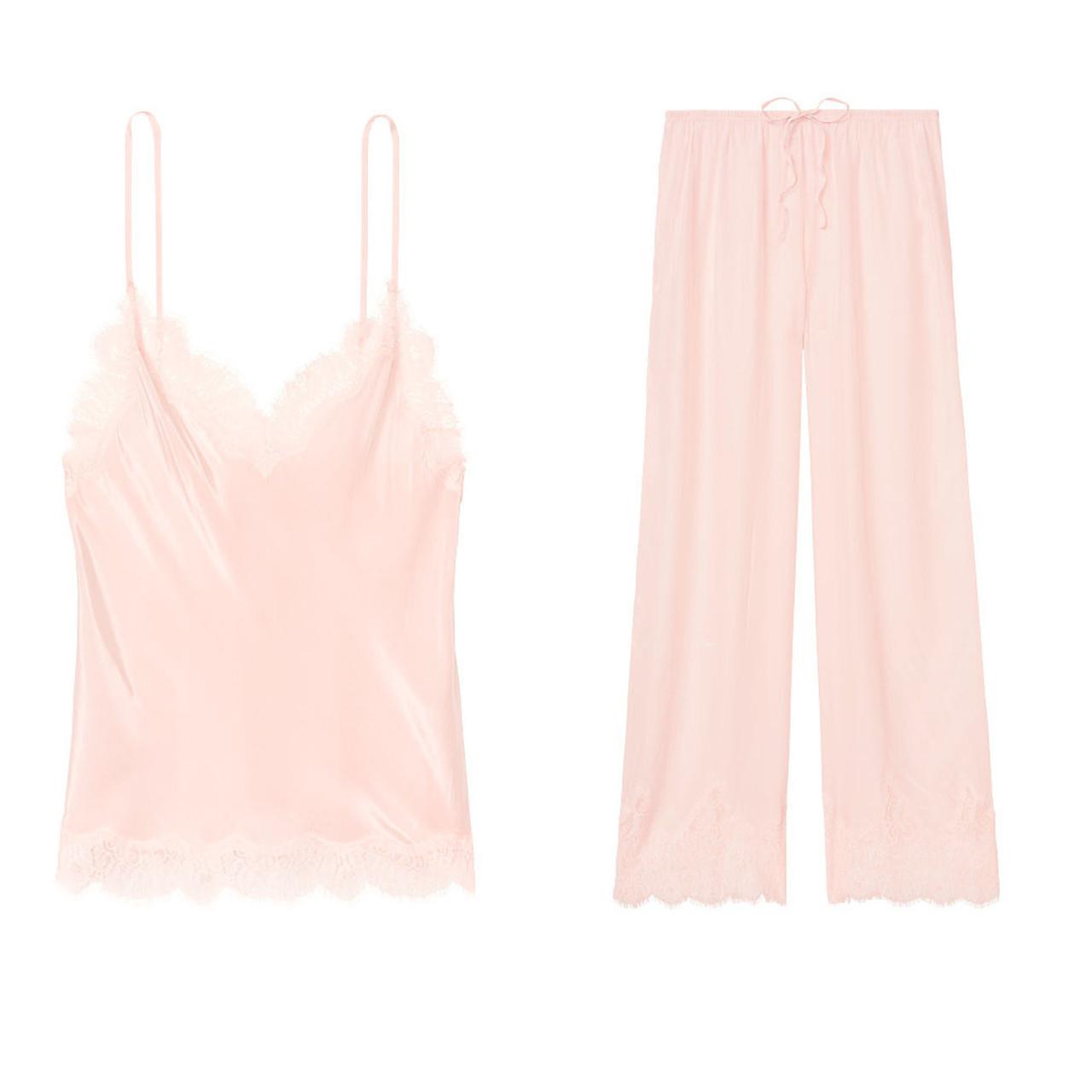Домашний костюм Victoria's Secret женская пижама art634927 (Розовый, размер XL)
