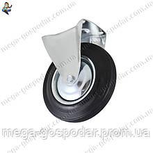 Колесо неповоротное 125мм,колесо промышленное для тележек D-125мм