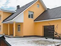 Утепление фасада дома в Днепропетровске