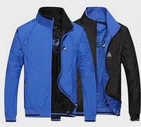 Осенние двусторонние мужские куртки ADIDAS 2XL-5XL! Стильные куртки. Верхняя одежда. Мужские куртки.Код: КЕ215