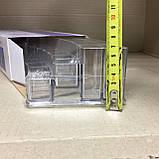 Пластиковый органайзер для косметики закругленный (yh-1066), фото 7