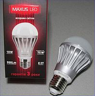 Светодиодная лампа MAXUS 1-LED-250 10w 5000K 220V E27