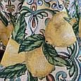 Гобеленовая скатерть Лимон, фото 4