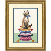 Набор для вышивания крестом Dimensions 70-35367 «Леди-кошка»