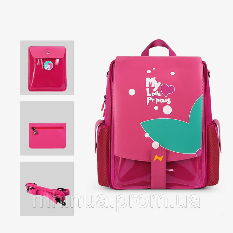 Школьный рюкзак Nohoo My little princess 3 в 1 (NHZ021-30)