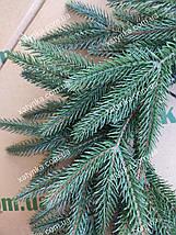 """Новорічний віночок """"Альпійський"""" зелений 50см / Вінок хвойний / Новорічний вінок / Декор, фото 2"""