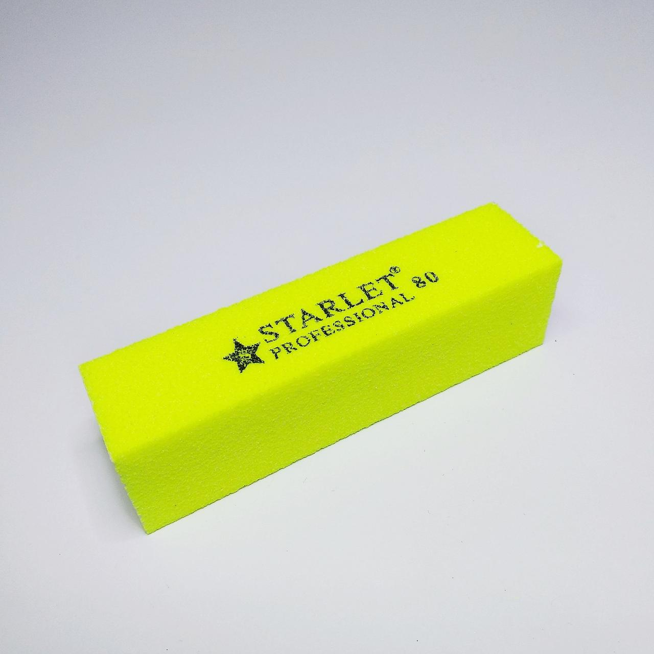 Блок шлифовочный 80грит Starlet