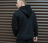 Худи мужское с лампасом Адидас (Adidas), фото 3