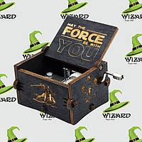 Музыкальная шкатулка винтажная Звездные Войны (Star Wars) черная, фото 1