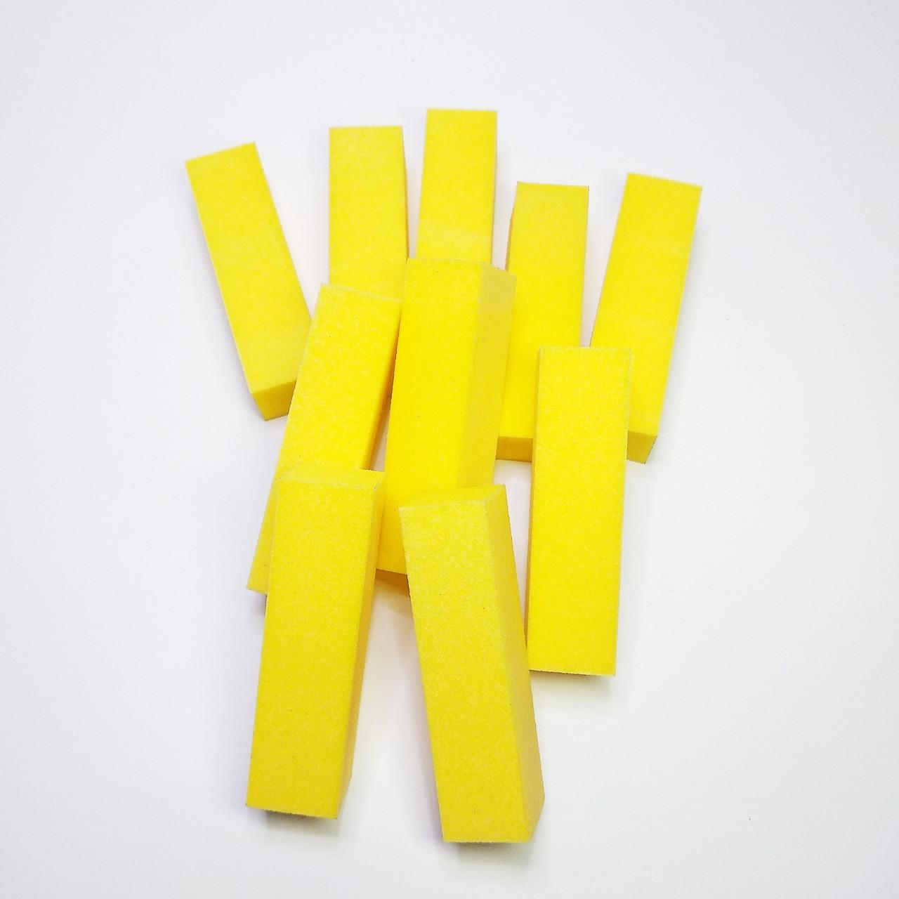Бафик  шлифовочный 10шт желтый
