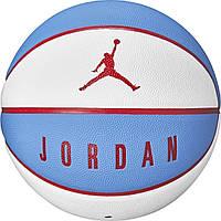 Мяч баскетбольный Nike Jordan Ultimate 8P р. 7 (J.000.2645.183.07) White/University Blue/University Red, фото 1