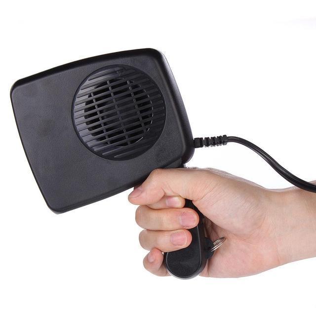 Автомобильный обогреватель/вентилятор с функцией обогрева и размораживания Auto Heater Fan 3 in 1
