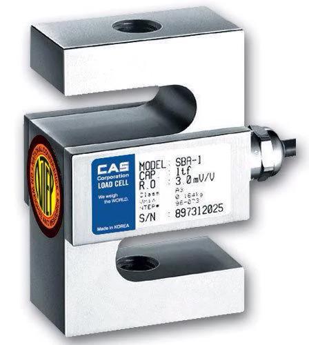 Тензодатчик S-образного типа CAS SBA (D3) 50 кг