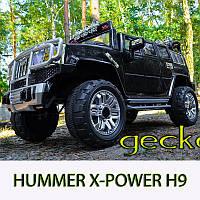 Детский электромобиль Hummer H3 Style: 90W, 8 км/ч, MP3 - BLACK - купить оптом