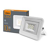 Светодиодный уличный LED прожектор VIDEX 10W 5000K