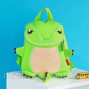 Дитячий рюкзак Nohoo Tyrannosaurus Style Тиранозавр Рекс (NH029 Green), фото 2