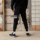 Карго штаны черные, от бренда ТУР модель Ёсида (Yoshida), фото 5