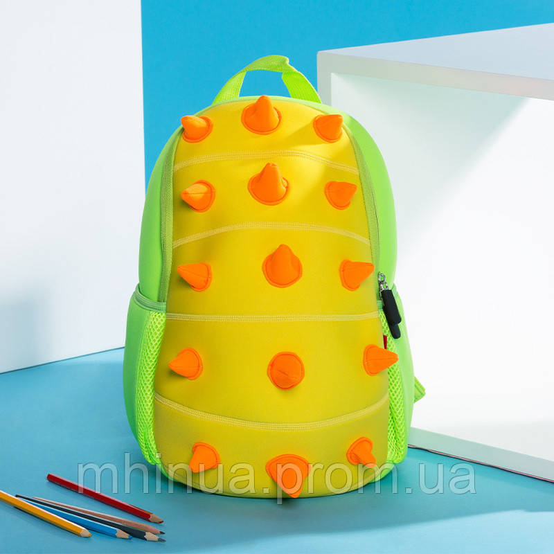 Дитячий рюкзак Nohoo Шипастик Салатовий (NH022 Green)