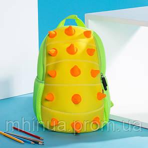 Дитячий рюкзак Nohoo Шипастик Салатовий (NH022 Green), фото 2