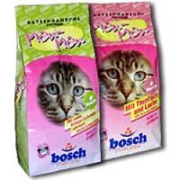 Корм для кошек Bosch Premium микс, для выведения шерстяных комочков, 20 кг